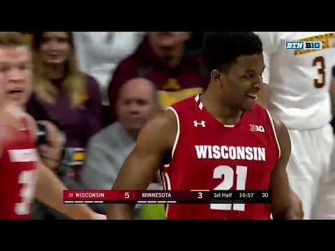 Wisconsin wins sixth game in a row, defeats Minnesota 56-51