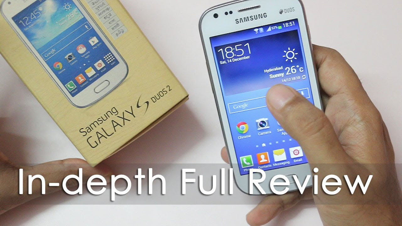 Samsung Galaxy S Duos 2 Full Review Youtube