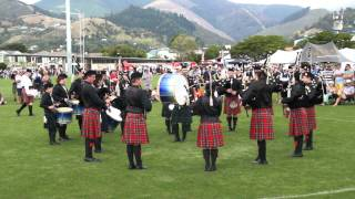 ILT City of Invercargill Highland Pipe Band G3   Medley Nationals 2015