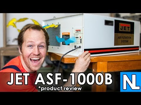 Jet AFS-1000B | product review | air filtration system