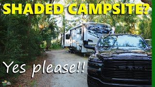 Live Oak Campground in Edisto Beach State Park, SC - Review and beach visit!!