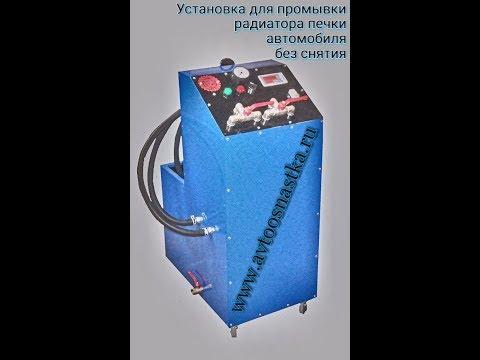 Промывка радиатора печки автомобиля без снятия