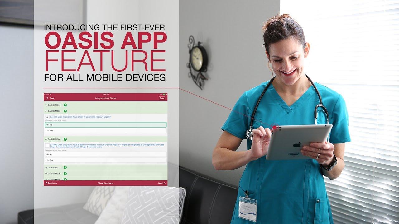 oasis mobile app