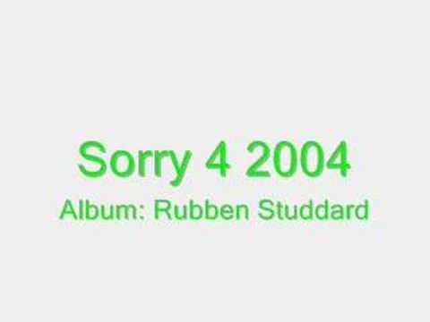 Sorry 4 2004