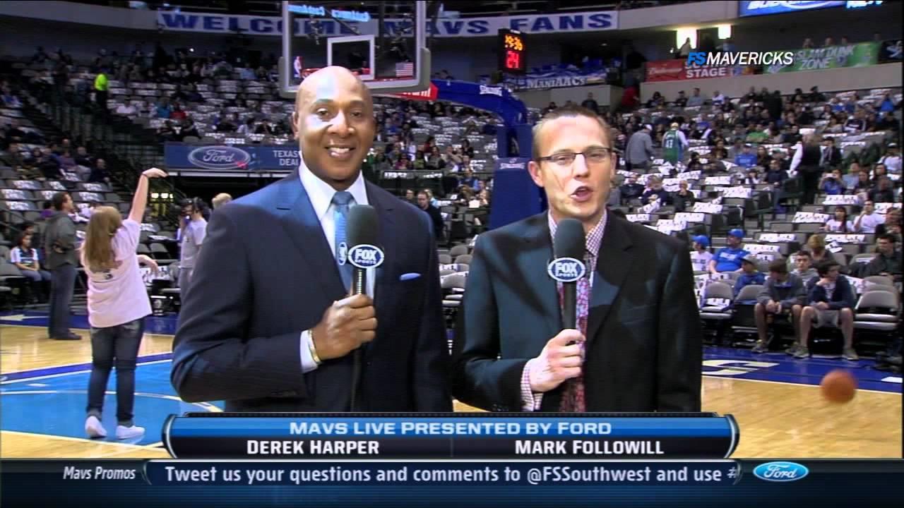 Derek Harper is excited for Bob Ortegal