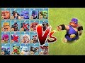 "EL PRIMO vs. ALL!!! ""Clash Of Clans"" FUNNy tROLL RAID"