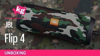 JBL Flip 4 Camouflage Unboxing [4K]