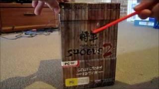 Total War Shogun 2 Collectors Edition Unboxing!