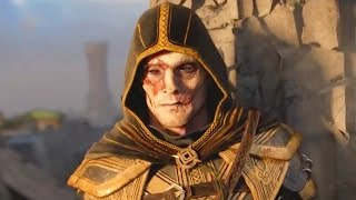 Confrontation: Breton and Nord Fight. Elder Scrolls Online Cinematic Trailer (Reformatted 16:9)