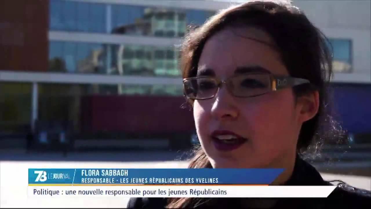 Politique : Flora Sabbagh nouvelle responsable des Jeunes Républicains