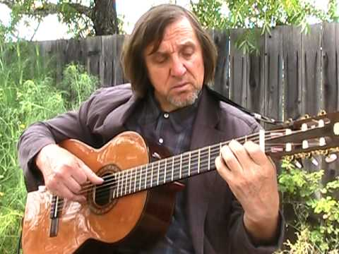 Santa Lucia - Classical Guitar. Italian Song.
