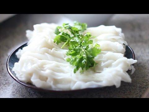 Cách làm BÁNH CUỐN/ bánh ướt thịt nướng -  Vietnamese steamed rice cake recipe