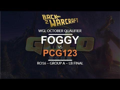 WGL:W 2018 - Oct Ro16 - LB Final (Grp A): [N] Foggy Vs. Pcg_123 [U]