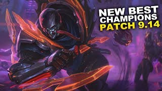 New Best Champions For Patch 9 14 Season 9 For Climbing In Every Role Youtube