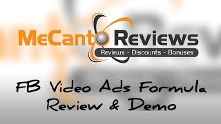 FB Video Ads Formula 2.0 (Review & Demo)