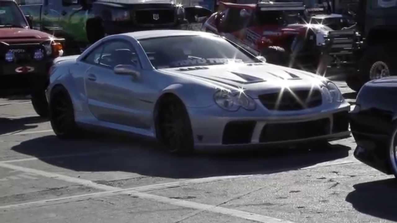 Mercedes Benz 2007 mercedes benz sl55 amg : 2007 SL55 AMG Super Wide Body - YouTube