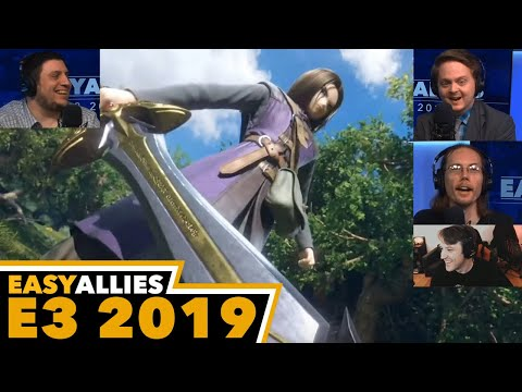 Dragon Quest Hero in Smash Bros. - Easy Allies Reactions - E3 2019
