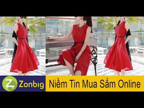 [Zonbig.com] – Jumpsuit Giả Váy Thời Thượng