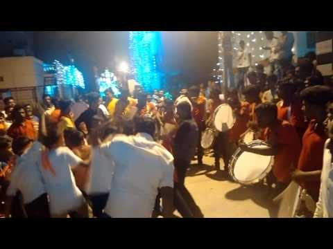 Thappu set in kovil function
