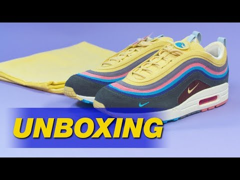 43e07c528c3 Sean Wotherspoon x Nike Air Max 1/97 | UNBOXING - YouTube