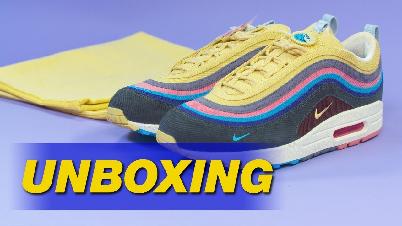 the latest 222f4 78762 Sean Wotherspoon x Nike Air Max 1 97   UNBOXING