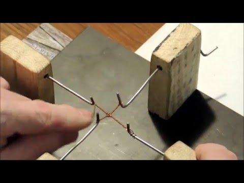 видео: Крестики из проволоки