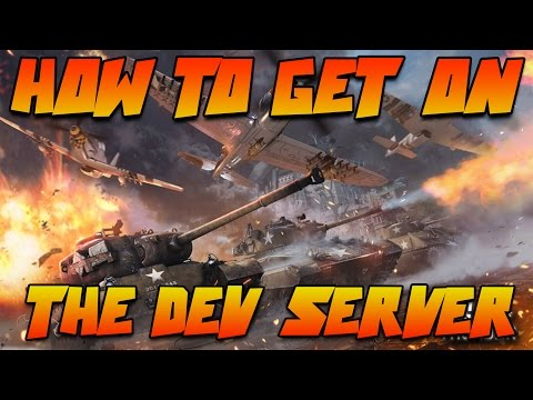 War Thunder Dev Server How to get on it!