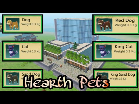Utopia: Origins - How to get Cats and Dogs Hearth Pets