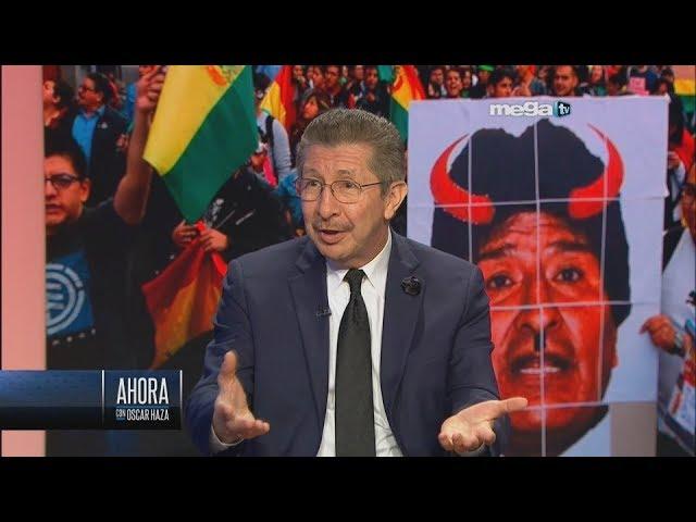 Cae dictador Morales en Bolivia y NO es GOLPE DE ESTADO