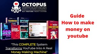 Octopus revolution review - youtube ranking software  digital marketing youtube seo online business