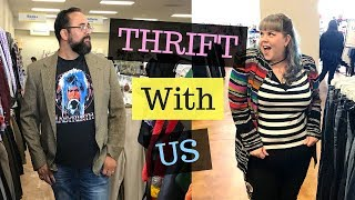 THRIFT WITH ME @ GOODWILL | Fatshion