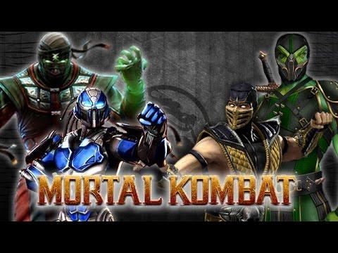 Mk9 Ermac Cyber Sub Zero Battles Vs Cthyn Reptile Scorpion