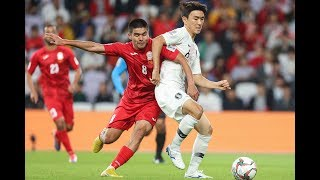 Highlights: Kyrgyz Republic 0-1 South Korea (AFC Asian Cup UAE 2019: Group Stage)