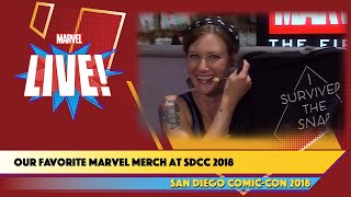 The Greatest Marvel Merch at SDCC 2018