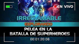 IRRECLAMABLE! Pelea en la Batalla de Superheroes | Marvel Contest of Champions