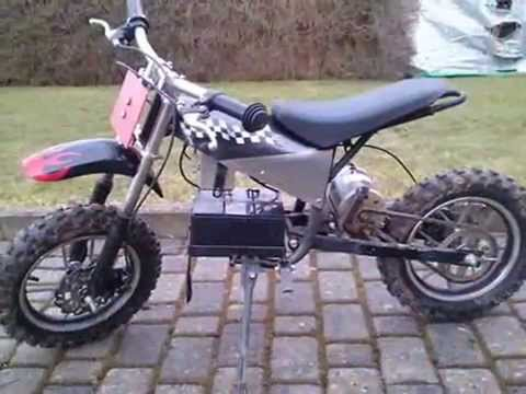 elektro motorrad cross 2 youtube. Black Bedroom Furniture Sets. Home Design Ideas