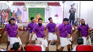 Wedding Dance   Kerala Hindu Wedding   Kakshi Amminippilla Song   Kando Ivideyinnu   Mambattiya