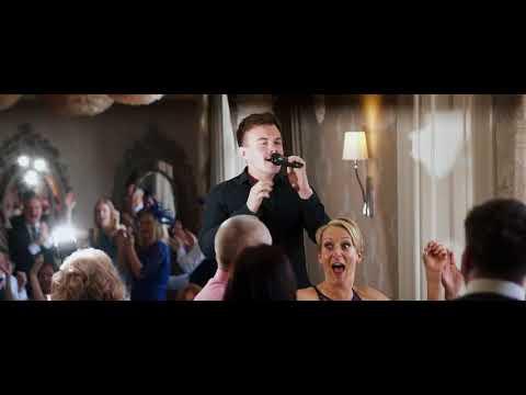 Surprise Singing Waiters Raise the Atmosphere at a Scottish Wedding