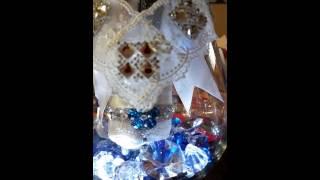 DiY center pieces for Bridal table