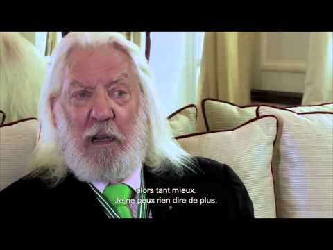 Interview de Donald Sutherland