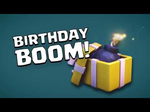 Clash of Clans: The Wizard's Birthday Boom (Builder Has Left Week 4)