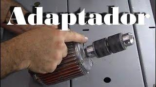 Extensor para eixo de motor - transforme qualquer motor numa boa ferramenta!