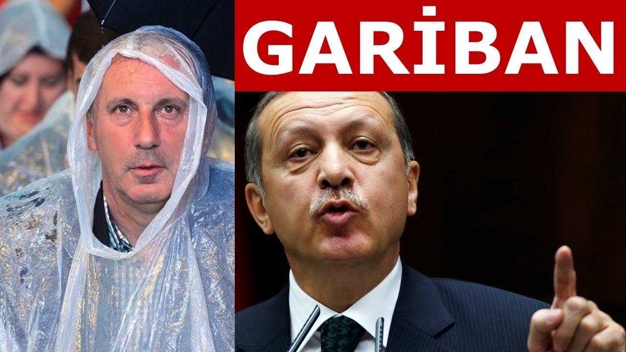 Muharrem İnce'den Erdoğan'a Gariban cevabı