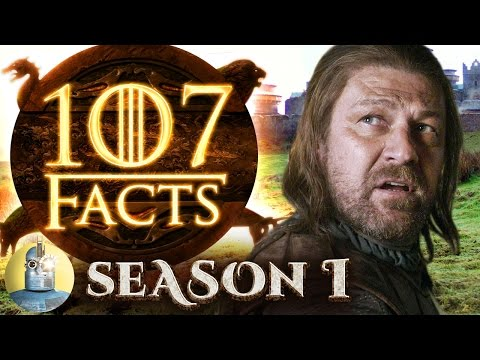 107 Game of Thrones Season 1 Facts YOU Should Know Cinematica