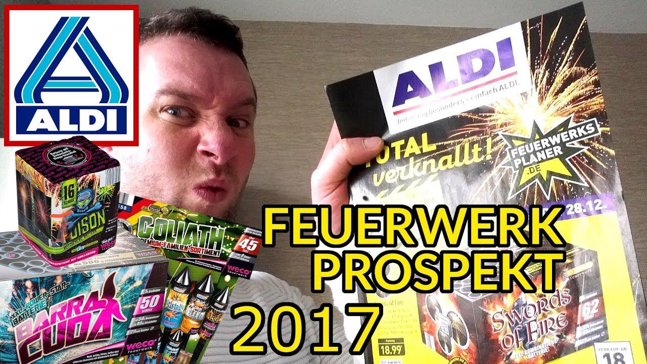 Kaufberatung Aldi Nord Feuerwerk Prospekt 2017 2018 Planet