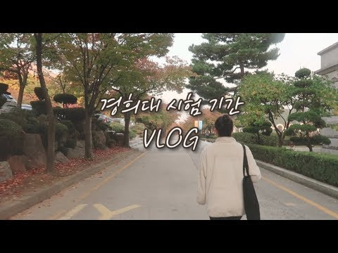 경희대 새내기의 시험기간 vlogㅣweek in the life of a Korean uni student (midterm week)