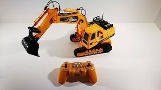 Video RC Excavator test Jamara Toys review download MP3, 3GP, MP4, WEBM, AVI, FLV September 2018