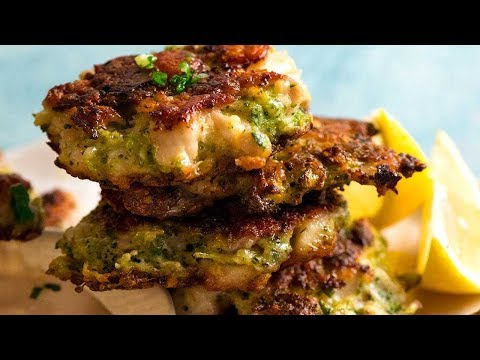 Parmesan Chive Fritters