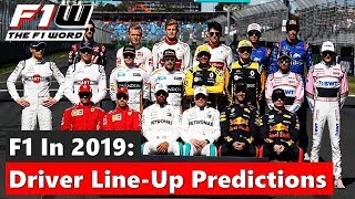 2019 Driver Line-Up Predictions