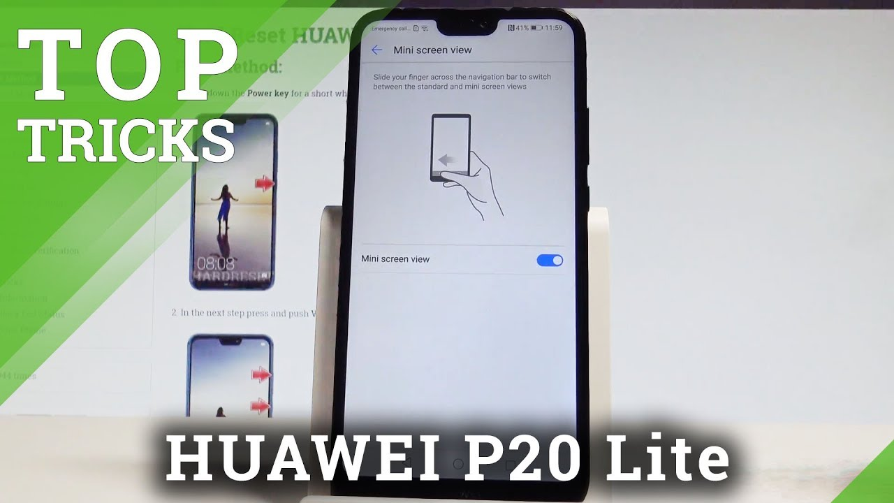 Top Tricks HUAWEI P20 Lite - The Best Settings & Features |HardReset info